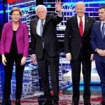 ganadores y perdedores debate demócrata - ahora us