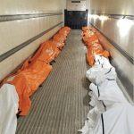 coronavirus nueva york manhattan cadaveres covid19 en camion de refrigeracion - ahora us