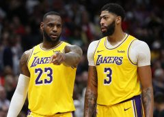 LeBron James y Anthony Davis llevan a Lakers a Semifinales en el Oeste