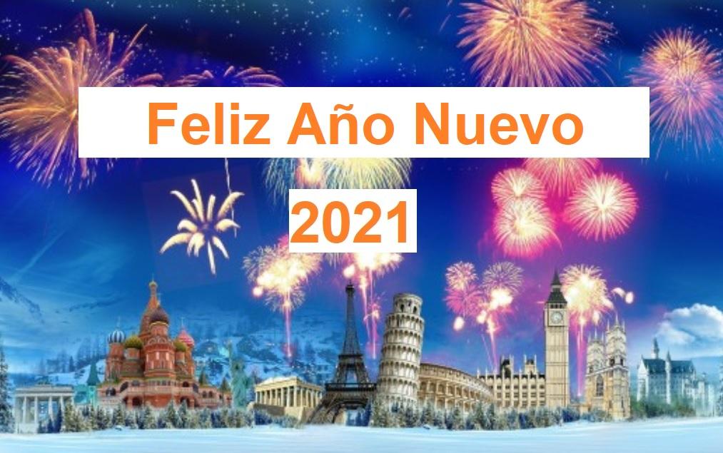 Feliz Año Nuevo 2021 - ahora us