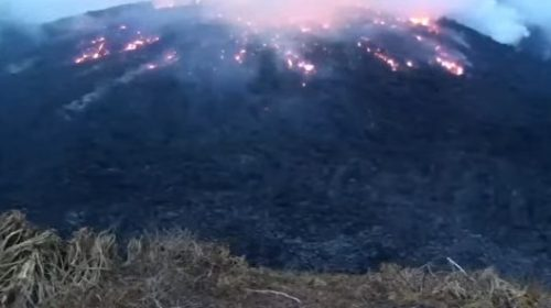 Volcan en San Vicente - ahora us