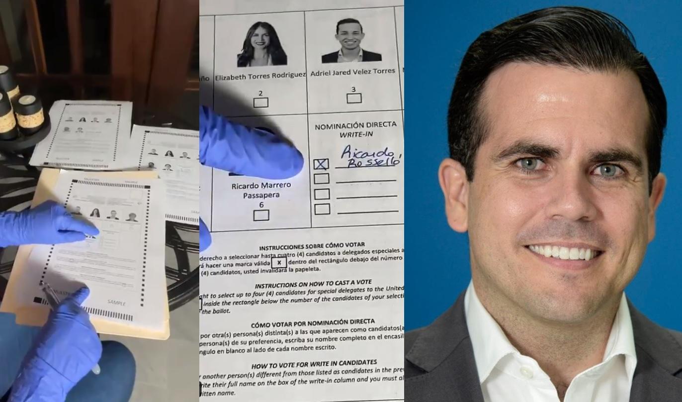 Ricardo Rossello posible fraude de voto - ahora us