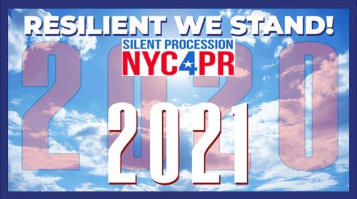 Silent Procession NYC4PR 2021 - ahora us