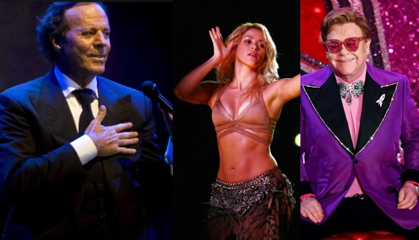 Pandora Papers - Julio Iglesias - Shakira - Elton John - ahora us